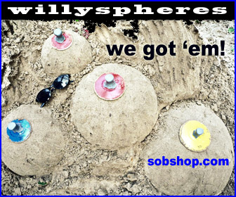 willy spheres sandshapers
