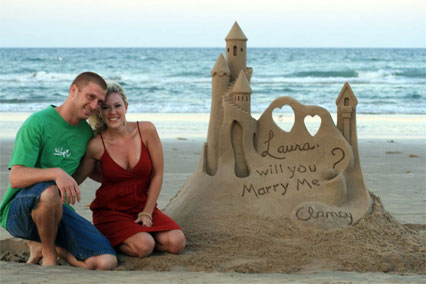 Here You Will Find A Listing Of Master Sand Sculptors Who Specialize In Beach Wedding And Marriage Proposal Sculptures Scroll Down To See If There Is