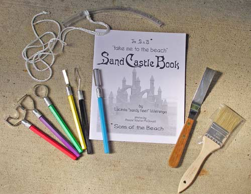 Sand Carving Tools From The Sons Of The Beach
